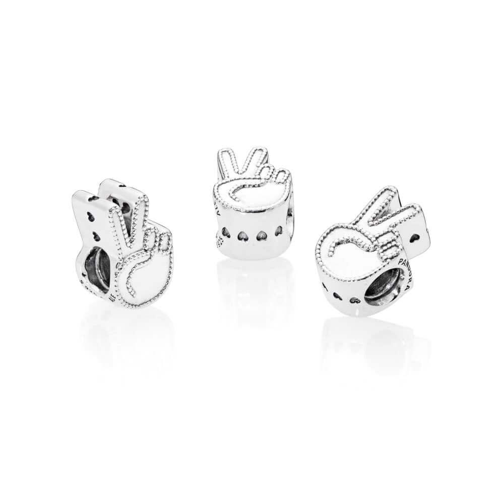 Symbol Of Peace Charm Pandora Jewelry Us
