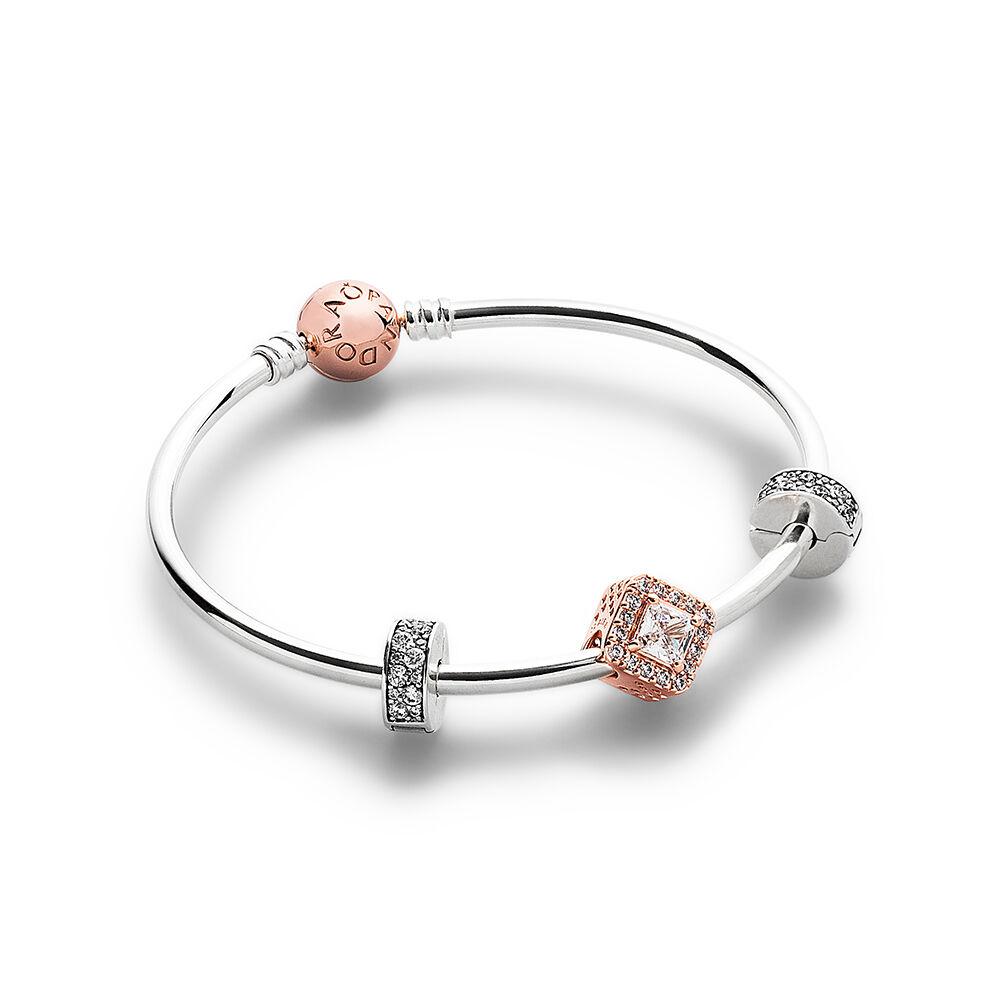 The Sparkle Of My Eye Pandora Rose Bracelet Set