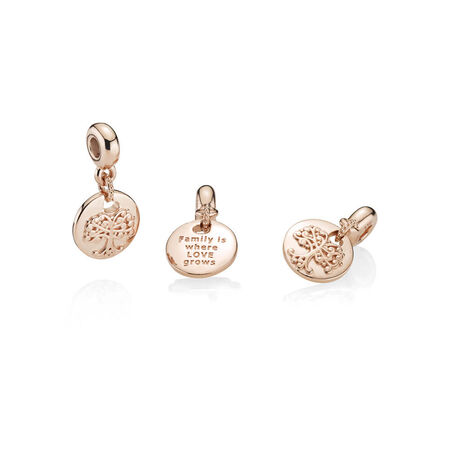 Family Roots Charm, PANDORA Rose™