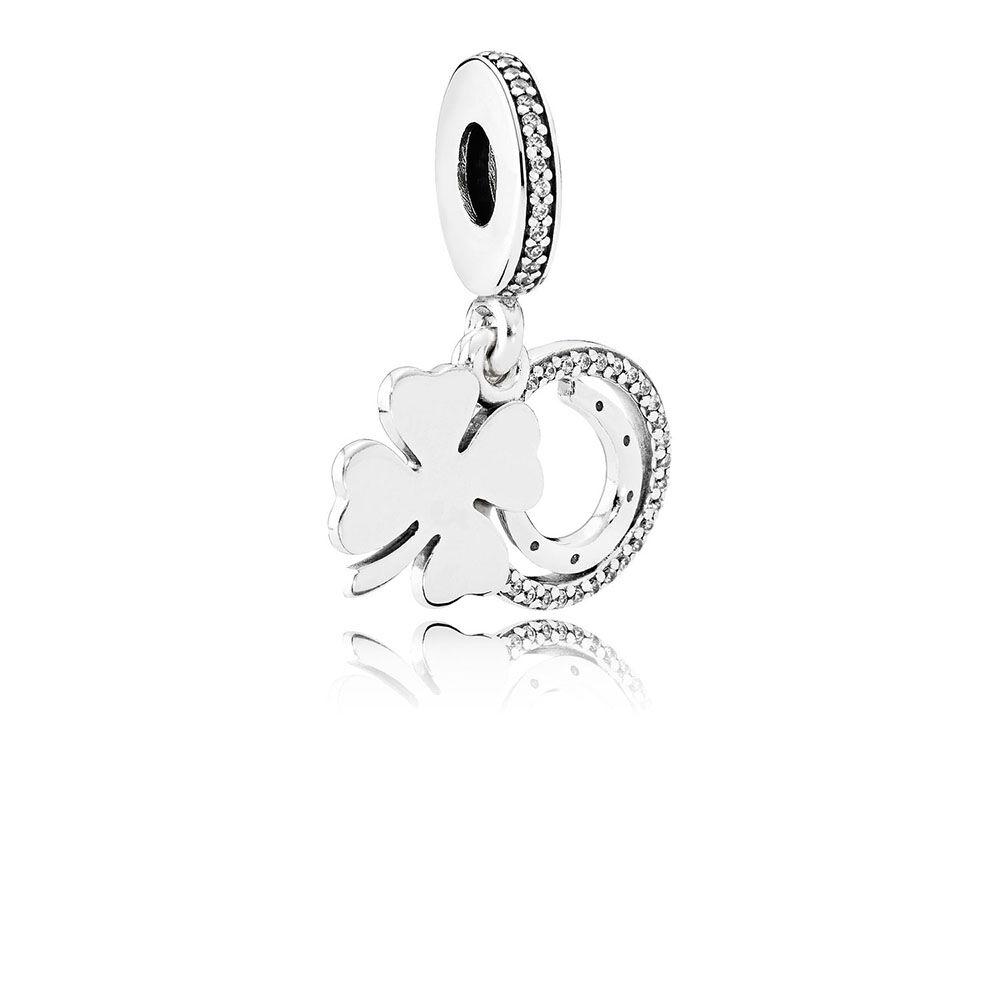 Lucky Day Dangle Charm Clear Cz Pandora Jewelry Us