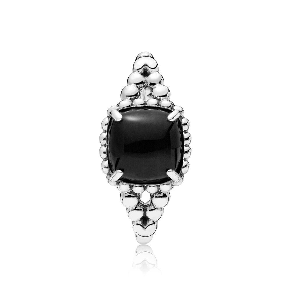 e5dc05da7 Vibrant Spirit Ring, Black Crystal, Sterling silver, Black, Crystal -  PANDORA -