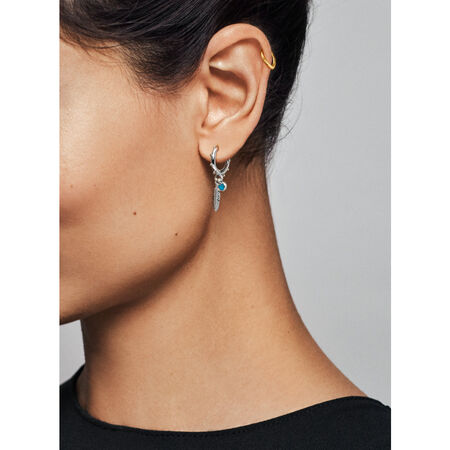 Open Heart Ear Cuff, PANDORA Shine™