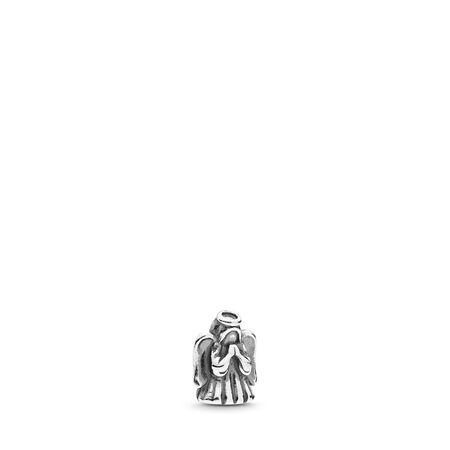 Divine Angel Petite Locket Charm, Sterling silver - PANDORA - #792159