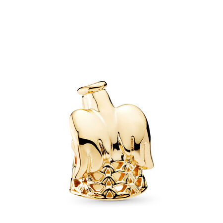 Angel of Grace Charm, 14K Gold