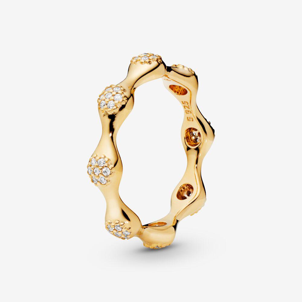 PavéModern LovePods Ring