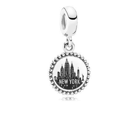 New York City, Sterling silver - PANDORA - #USB791169-G051
