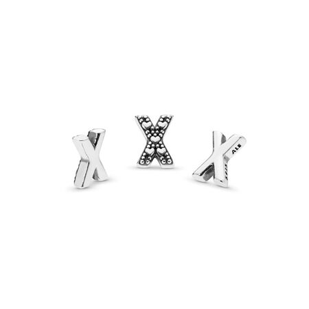Letter X Petite Locket Charm