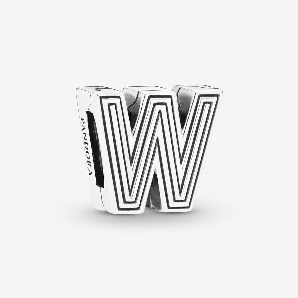 Pandora Reflexions™ Letter W Clip Charm