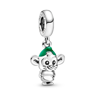 Disney Cinderella Gus Mouse Dangle Charm