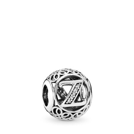 Vintage Z, Clear CZ, Sterling silver, Cubic Zirconia - PANDORA - #791870CZ