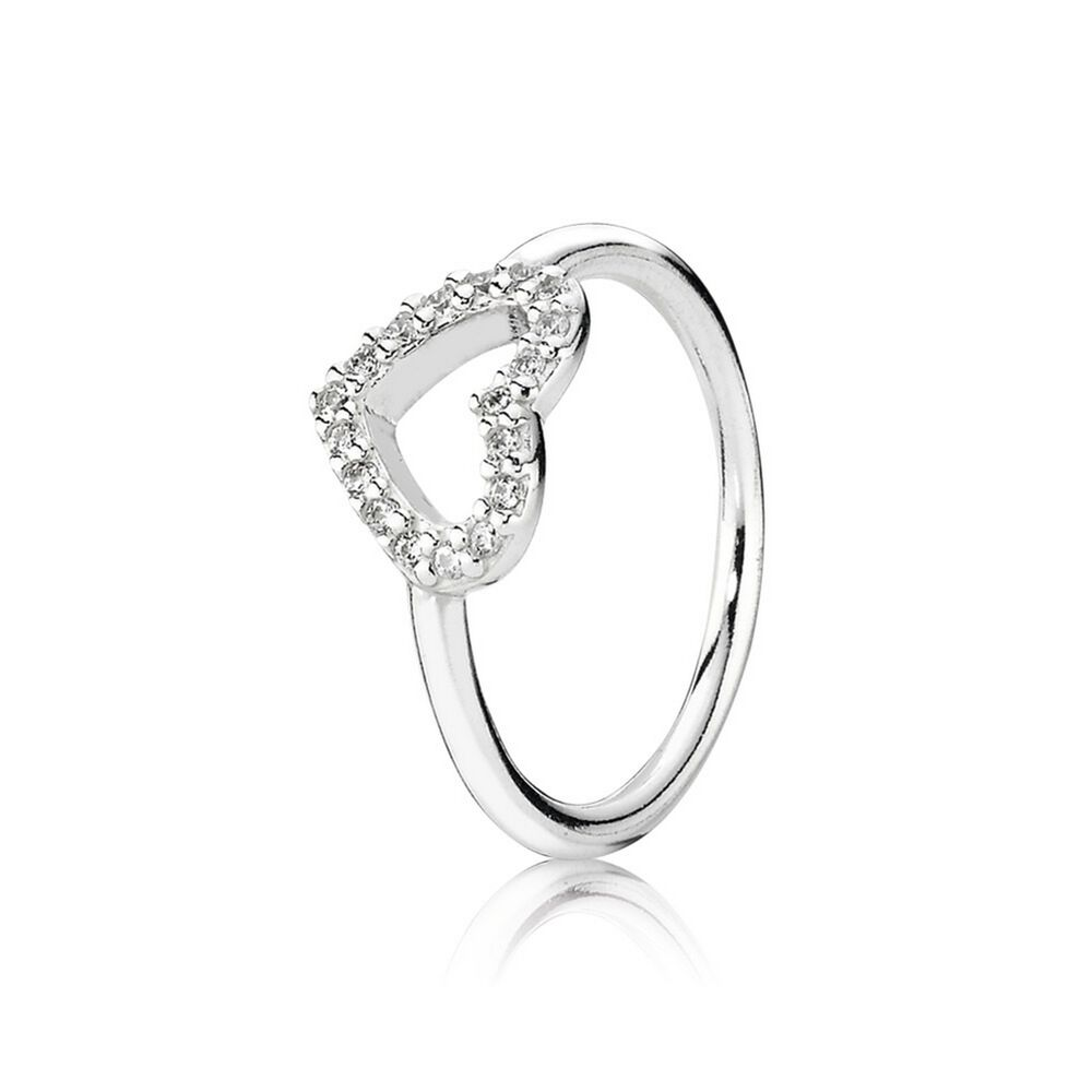be my valentine ring clear cz