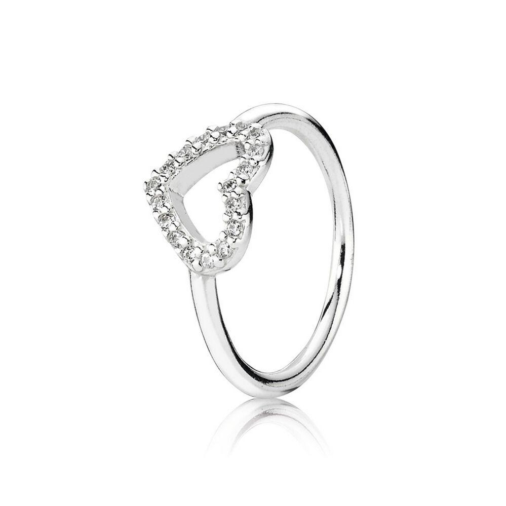Außergewöhnlich Be My Valentine Ring, Clear CZ