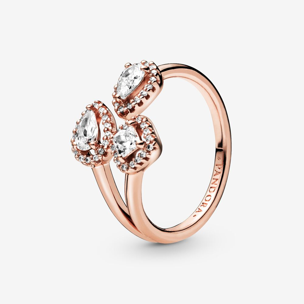 Geometric Shapes Open Ring