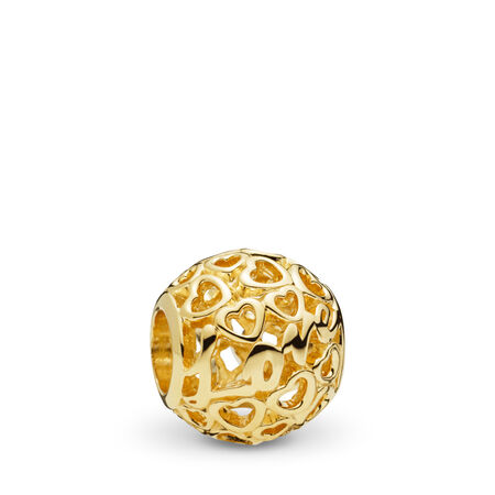 Glowing with Love Charm, 14K Gold