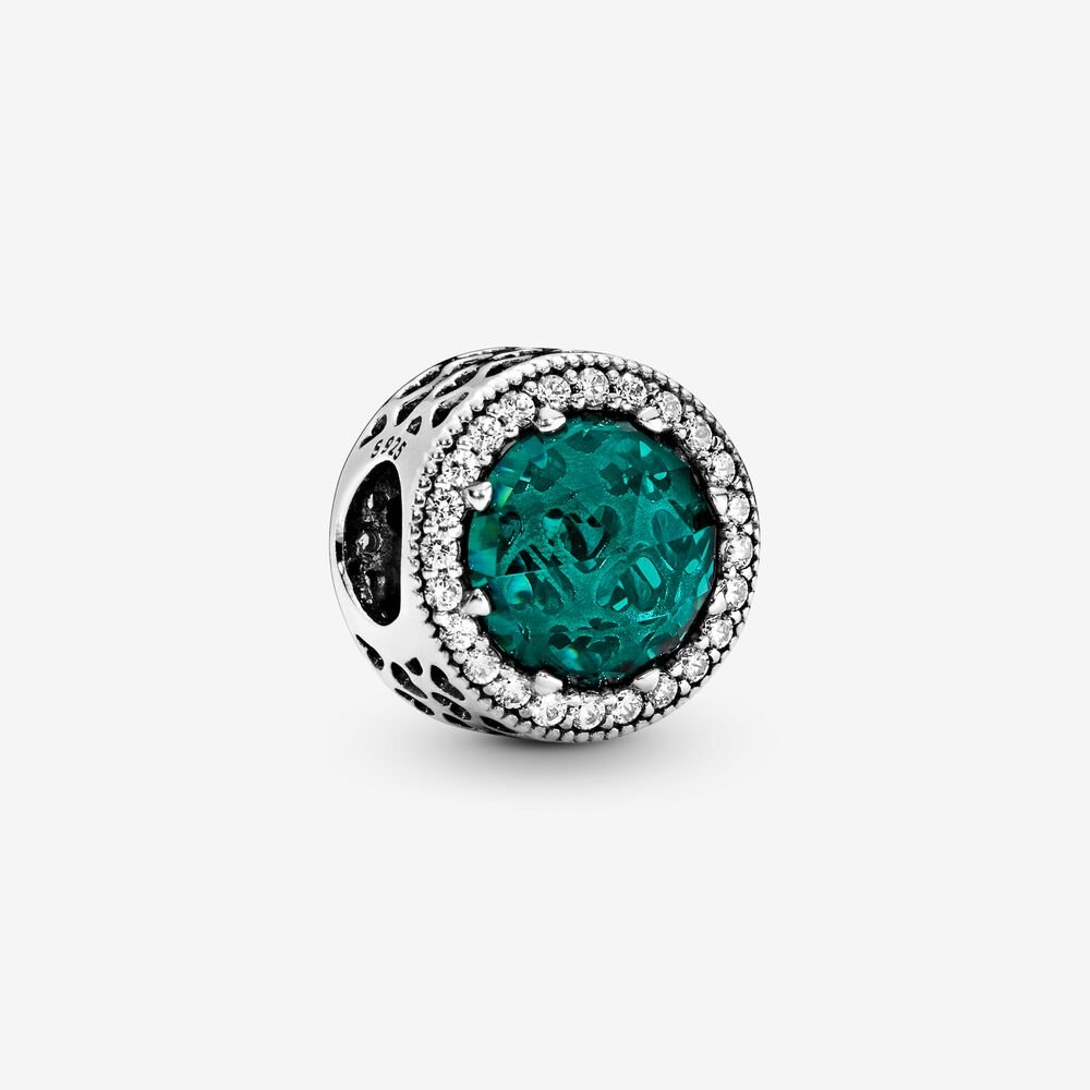 Sparkling Sea Green Charm
