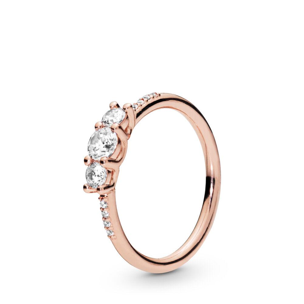 ab472e2ce8e9 Anillo Elegancia Brillante, Pandora Rose™ PANDORA Rose, sin color,  Circonita cúbica
