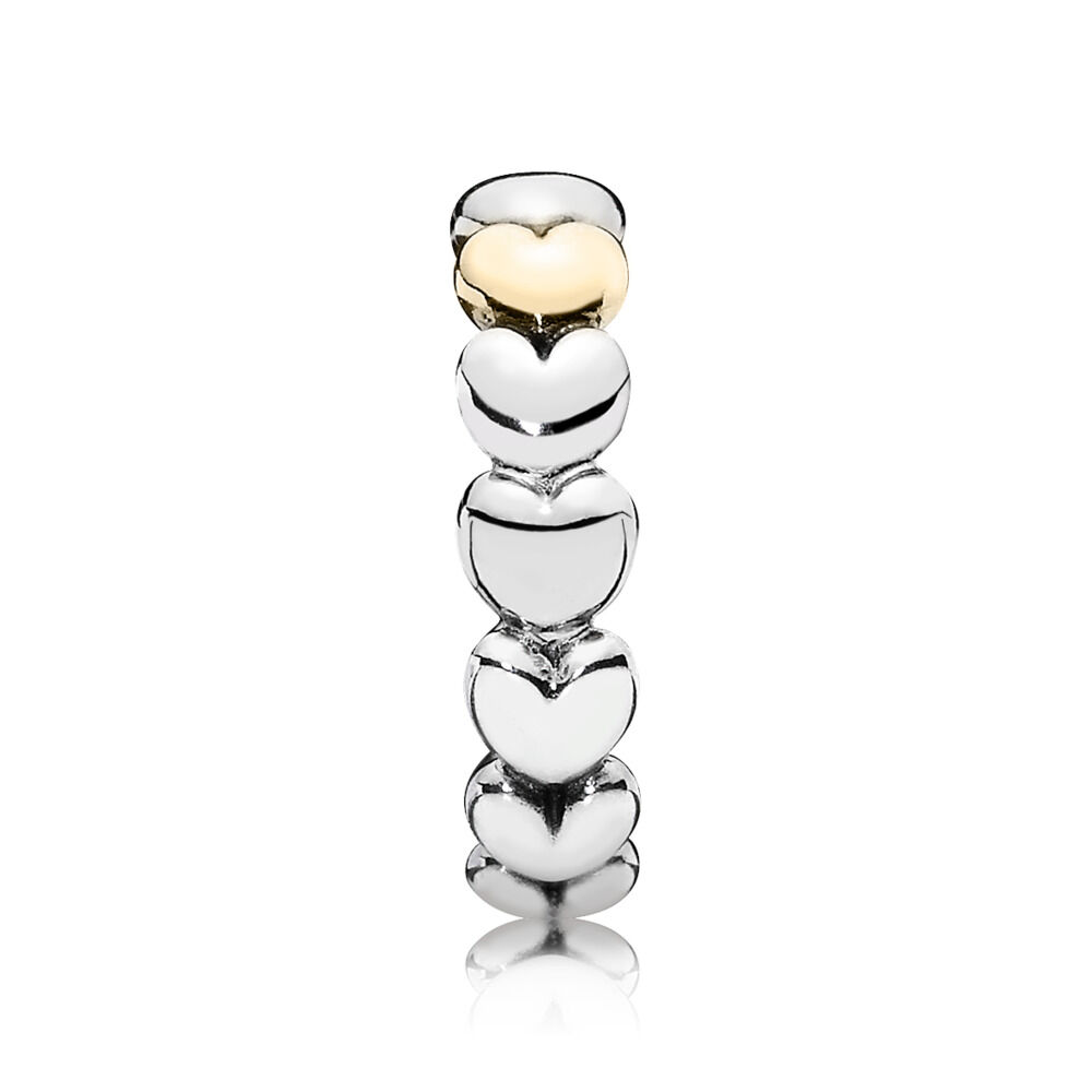 ec4a53dfd My One True Love Ring, Two Tone - PANDORA - #190898