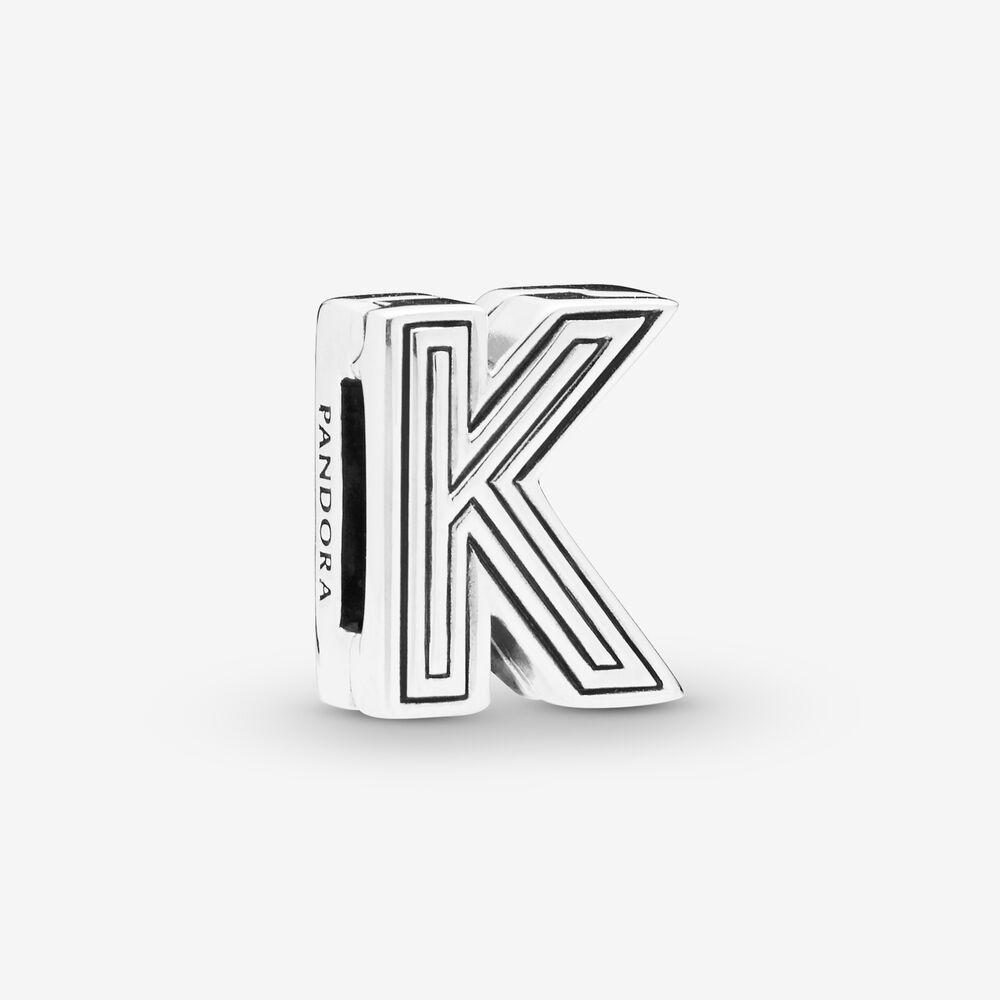 Pandora Reflexions™ Letter K Clip Charm