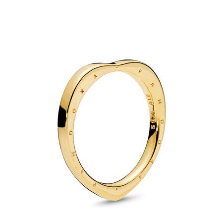 PANDORA Signature Arcs of Love Ring, PANDORA Shine™