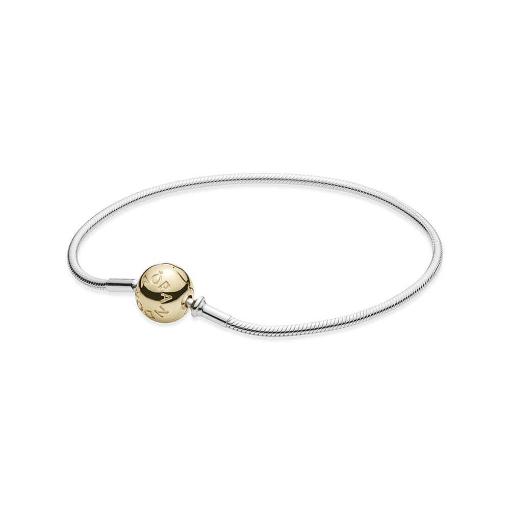 fd6992655 ESSENCE COLLECTION Sterling Silver Bracelet with 14K Gold Clasp ...