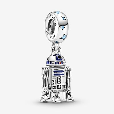 Star Wars R2-D2 Dangle Charm , Silver