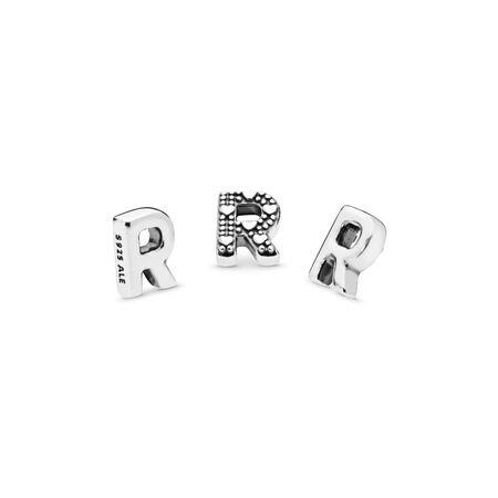 Letter R Petite Locket Charm
