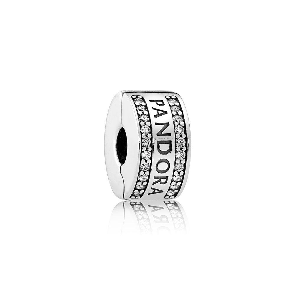 Pandora Logo Clear Cz Pandora Jewelry Us