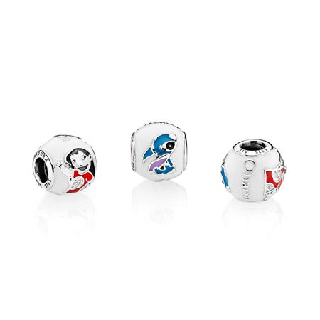 Disney, Lilo & Stitch Charm, Mixed Enamel