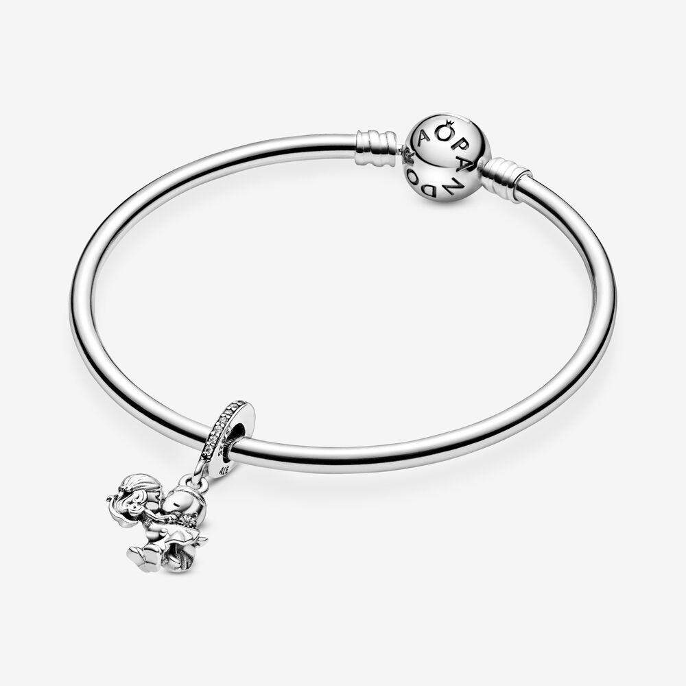 Married Couple Dangle Charm | Sterling silver | Pandora US