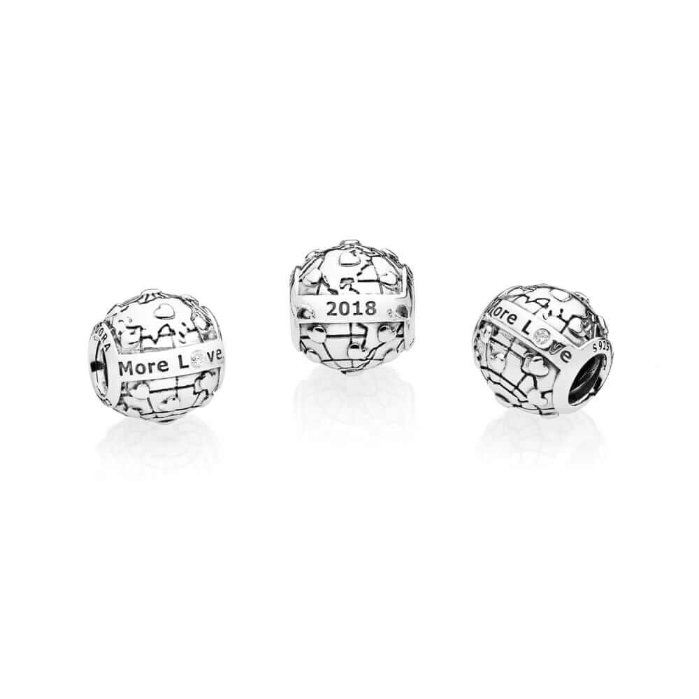 2018 Pandora Club Charm 0 01ct Tw H Vs Diamond Pandora