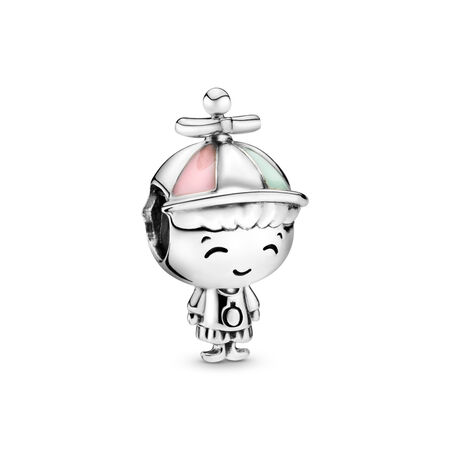 Propeller Hat Boy Charm