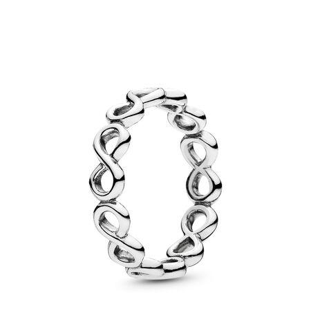 Infinite Shine Ring, Sterling silver - PANDORA - #190994