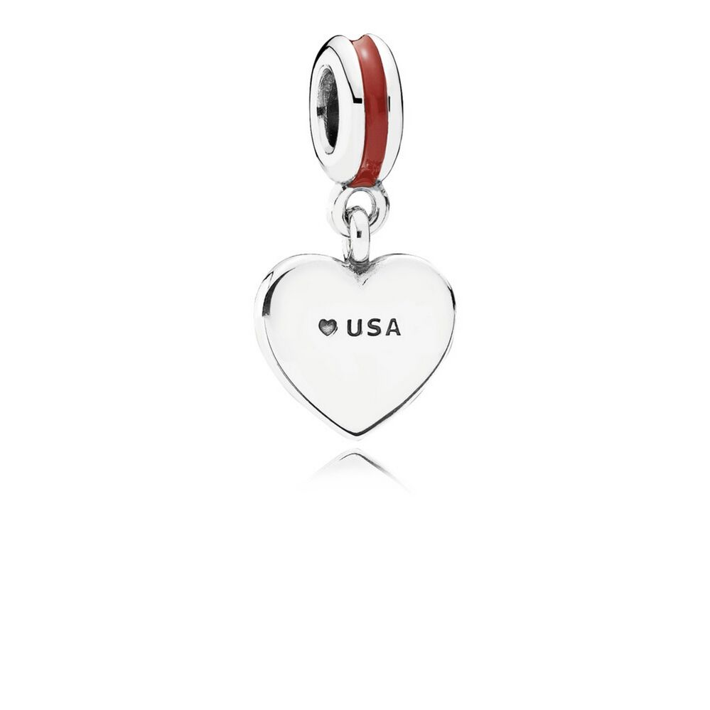 pandora american flag charm