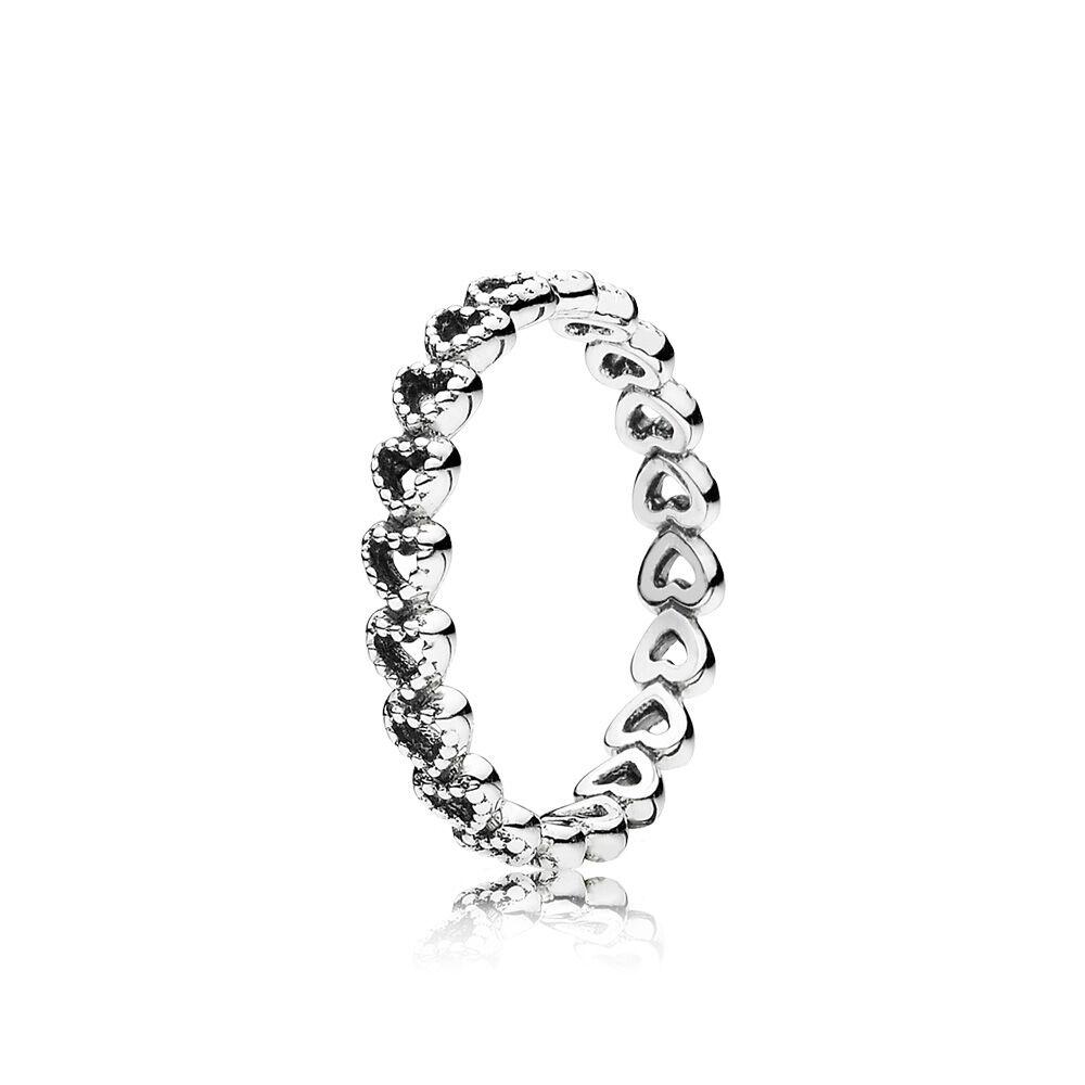 pandora ring silver