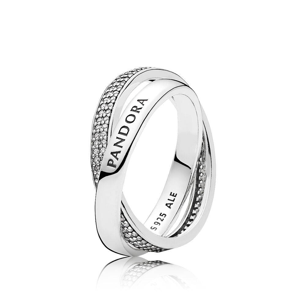 Pandora Promise Ring Clear Cz Pandora Jewelry Us