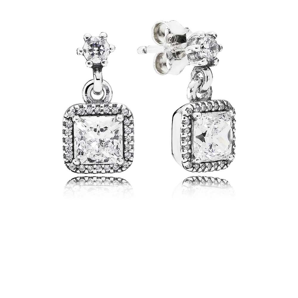 pandora drop earrings