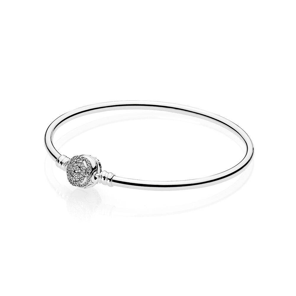 simple moon steel stainless bracelet bangle bangal product star open