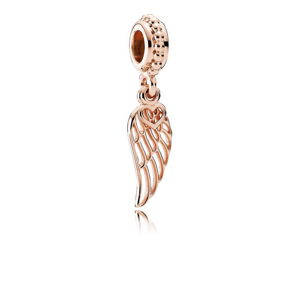 pandora angelic feathers charm