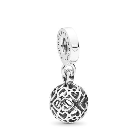 Harmonious Hearts Dangle Charm