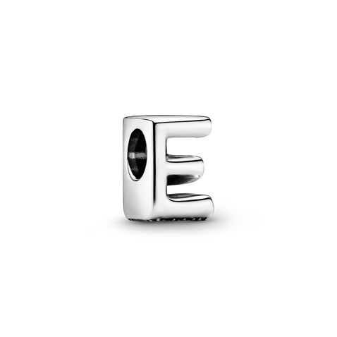 Letter E Alphabet Charm