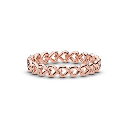 Band of Hearts Ring, PANDORA Rose - PANDORA - #180177