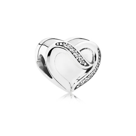 Dreams of Love, Clear CZ, Sterling silver, Cubic Zirconia - PANDORA - #791816CZ