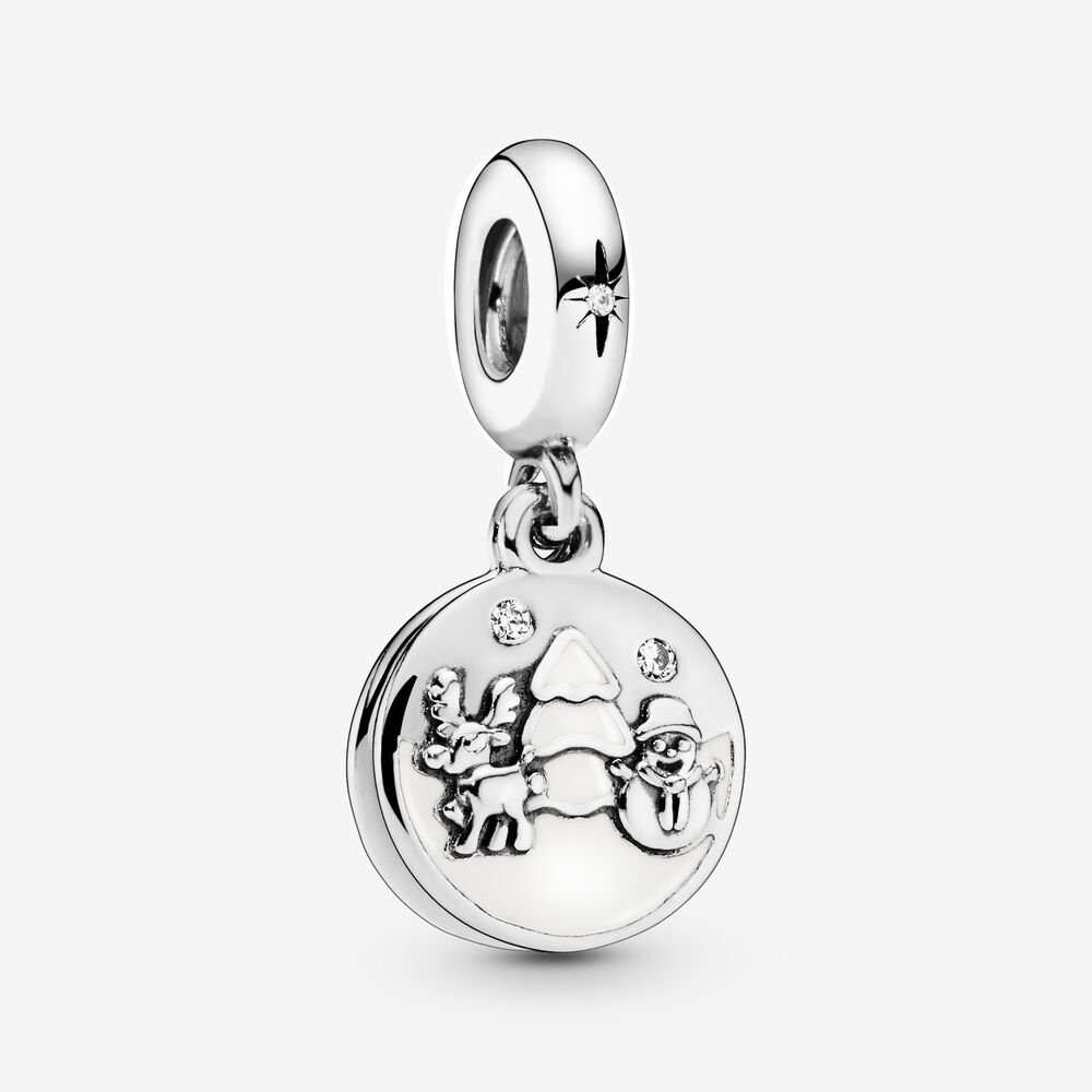 Snowy Scene Dangle Charm