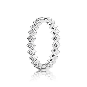 Alluring Princess Ring, Clear CZ