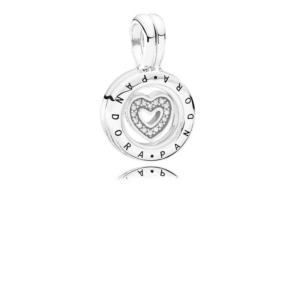 dp rim floating heart locket com silvertone necklace shaped charm jewelry clear magnetic crystal lockets close amazon