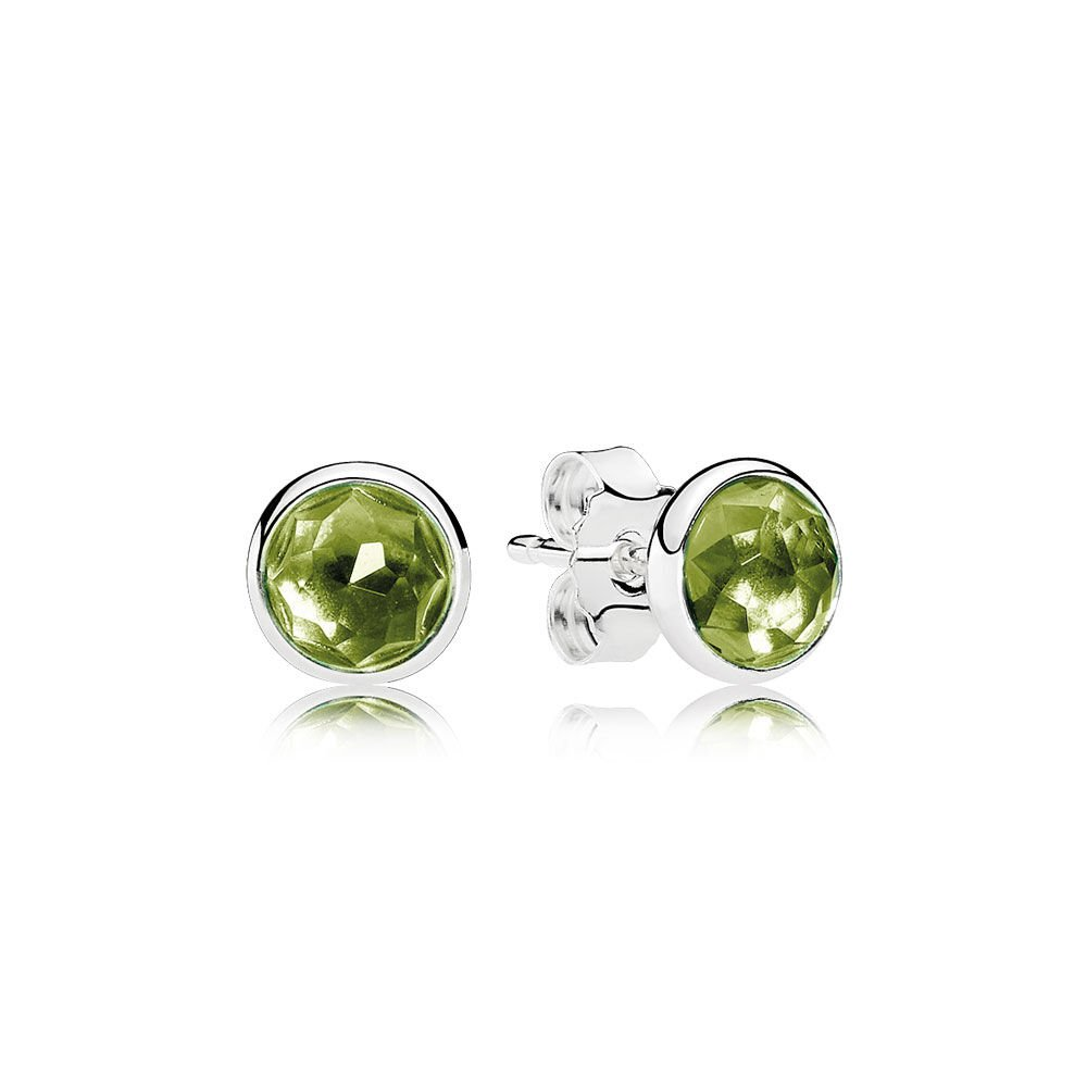porter collections piece single veve veveperidotstudsingle products lyons stud peridot