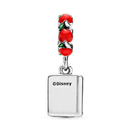 Disney, Snow White & The Seven Dwarfs Book Dangle Charm, Mixed Enamel