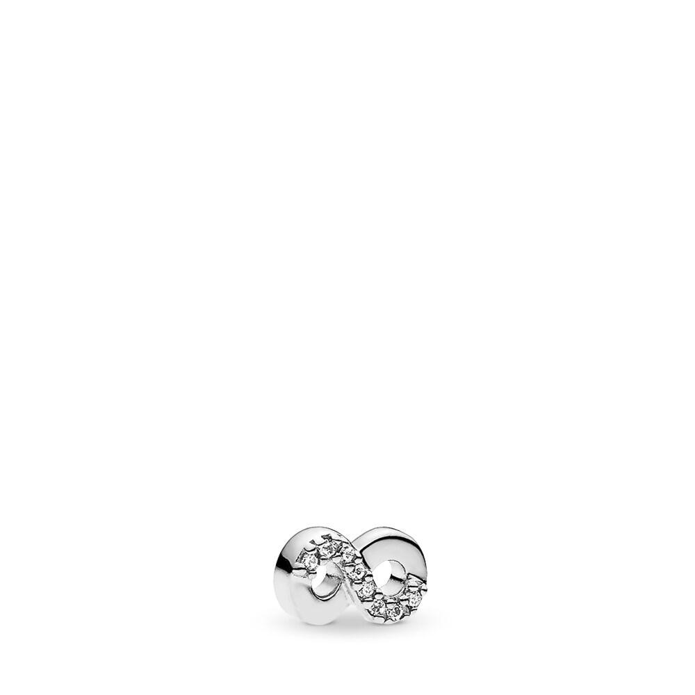 c1538b166 Infinite Love Petite Locket Charm, Sterling silver, Cubic Zirconia - PANDORA  - #792178CZ