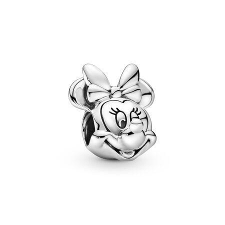 Disney Minnie Mouse Charm, Sterling silver - PANDORA - #791587