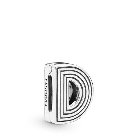 Pandora Reflexions™ Letter D Clip Charm